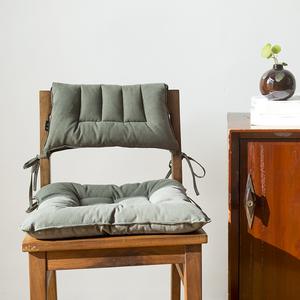 古色棉麻<span class=H>坐垫</span>椅垫清新自然四季通用柔软舒适亚麻<span class=H>坐垫</span>靠背垫