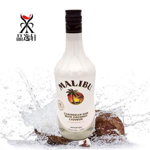 洋酒 马利宝椰子<span class=H>朗姆酒</span>malibu Coconut rum西班牙进口 鸡尾酒正品