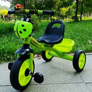 儿童卡通三轮车宝宝脚踏<span class=H>自行车</span><span class=H>玩具</span>车单车带灯光音乐新款式