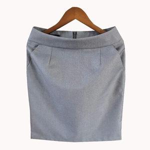 职业包裙女夏工装<span class=H>短裙</span>子包臀工作裙西装裙正装裙一步裙半身裙口袋
