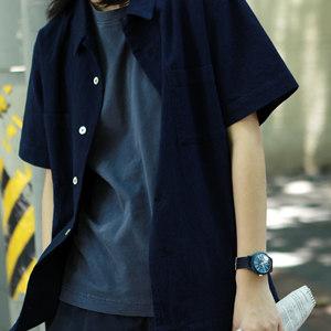 【Novfinegoods】店主最爱 Indigo <span class=H>Aloha</span> Shirt 蓝染夏威夷衬衫