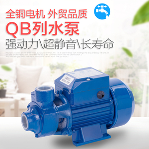水泵家用 220v 高扬程 机电五金QB60单相110V纯铜一寸抽水机小型