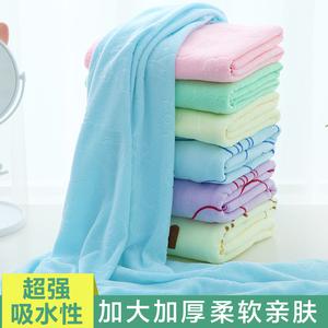 家用情侣款纯棉大<span class=H>浴巾</span>可穿式裹巾百变女浴裙吸水速干成人网红<span class=H>毛巾</span>