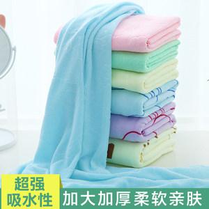 家用情侣款纯棉大浴巾可穿式裹巾百变女浴裙吸水速干成人网红<span class=H>毛巾</span>
