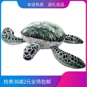 创意<span class=H>乌龟</span>毛绒<span class=H>玩具</span>大号海龟抱枕海洋馆装饰摆设礼品布娃娃