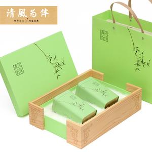 高档<span class=H>绿茶</span>通用包装空礼品盒 <span class=H>龙井</span>半斤装茶叶盒 <span class=H>碧螺春</span>一斤装定制