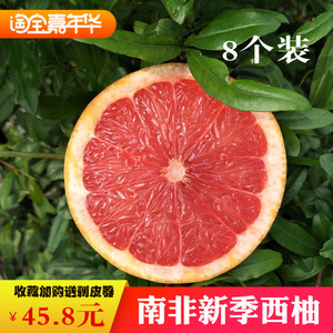 新季南非西柚8个新鲜孕妇水果补充叶酸进口鲜柚榨汁葡萄<span class=H>柚子</span>包邮