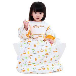 象宝宝elepbaby婴幼儿<span class=H>睡袋</span> 新生儿宝宝<span class=H>睡袋</span> 加厚款儿童防踢被 L码