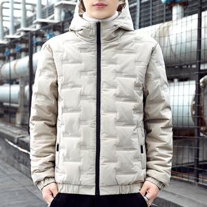 越冠军棉衣男装2020年新款外套冬季羽绒棉服韩版潮流潮牌棉袄