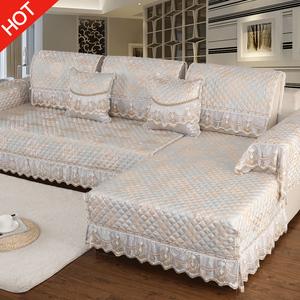 沙发垫四季通用布艺欧式防滑皮沙发坐垫<span class=H>沙发套</span>全包万能套罩巾全盖