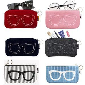 收纳袋<span class=H>眼镜</span><span class=H>袋子</span>女收纳包 眼睛女收纳包男女<span class=H>眼镜</span>架 毛毡布袋男墨镜