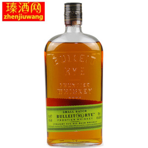 布莱特黑麦<span class=H>威士忌</span>Bulleit Rye Frontier <span class=H>Whiskey</span> 700ml