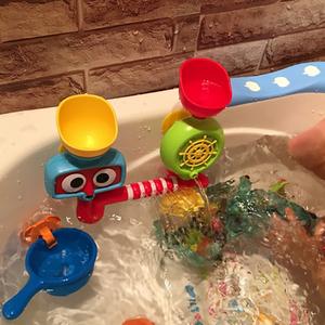 <span class=H>宝宝</span>洗澡玩具转转乐婴儿童玩水水龙头喷水花洒男孩女孩浴室戏水