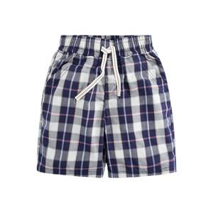 夏季<span class=H>男童</span>沙滩裤薄款男孩<span class=H>格子</span>五分裤宝宝休闲热裤纯棉<span class=H>格子</span><span class=H>中裤</span>外穿
