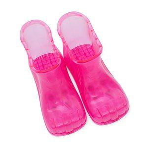 2018新款泡脚鞋高筒足浴鞋情侣足底穴位按摩男女式<span class=H>足疗鞋</span>棉<span class=H>拖鞋</span>女
