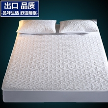 Pure Cotton Bedspread Single Cotton Jacket Thickened Bedspread Slip-proof Simmons Protective Cover Bedspread Cover 1.8m