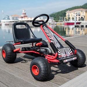 儿童卡丁车四轮脚踏<span class=H>自行车</span>运动健身益智玩具汽车可坐宝宝沙滩童车