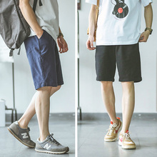 Hey horse original Japanese retro summer men's shorts quintuple pants tidal beach relaxed sports pants couples loading Hong Kong wind
