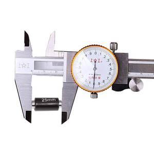 上工带表卡尺0-150MM高精度不锈钢<span class=H>游标卡尺</span>0-200MM300迷你卡尺