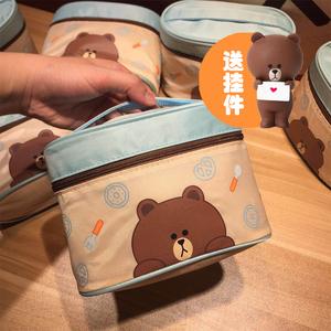 <span class=H>化妆包</span>大容量多功能韩国旅行防水小号简约便携化妆品收纳包