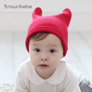 宝宝<span class=H>帽子</span>春秋0-3-6-12个月新生婴幼儿胎帽韩版男女童套头帽纯棉