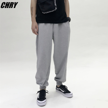 CHRY STUDIO basic section closing leg pants male loose sports beam casual pants casual couple tide