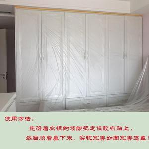 一次性挡灰布用居大号薄膜家具防尘防水塑料袋膜床罩盖家电无滴膜