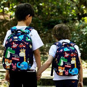 图图幼儿园书包大班女宝宝3-6-12岁儿童书包小学生男1-3年级双肩