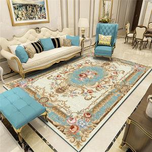 柠檬树 欧式客厅<span class=H>沙发</span>茶几地毯美式家用卧室满铺简约现代进门<span class=H>地垫</span>