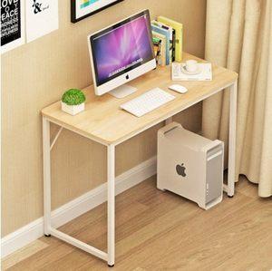 书桌出租屋时尚培训班家庭写字台个性客厅简易办公电脑<span class=H>桌子</span>电视机