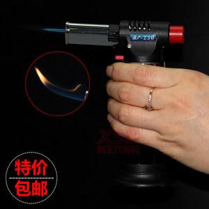 焦糖布丁微型焊枪烙画户外喷火枪<span class=H>打火机</span>解冻杀菌消毒电子火焰<span class=H>喷灯</span>