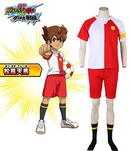 闪电十一人GO 剧场版松风天马日本代表队足球服动漫Cosplay男装