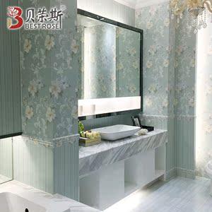 简约现代厨卫<span class=H>瓷砖</span><span class=H>地板</span>砖欧式壁纸浴室墙砖300x600卫生间防滑地砖