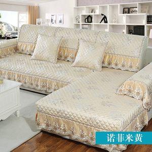 全加厚坐垫个性定制组合巾套巾风格靠背套装质感客厅一沙发垫儿。