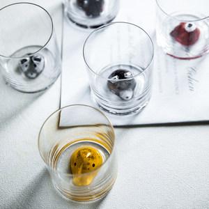 新居意动物可爱水杯小狐狸熊猫多款耐热玻璃喝茶<span class=H>杯子</span>家用套装创意