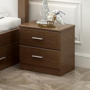 北欧床头柜简约现代迷你简易床头柜实木卧室储物柜床边小柜子