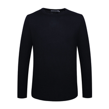 S176. Luo Men's Sweater Comfortable Elastic Pullover Round-collar Casual Sweater