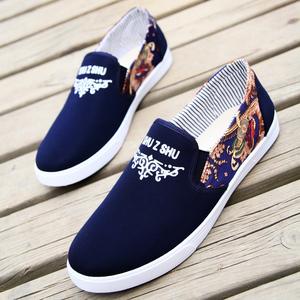 布<span class=H>鞋</span>男夏季潮流休闲男<span class=H>鞋</span>韩版潮帆布<span class=H>鞋</span>透气<span class=H>鞋</span>子男士北京懒人板<span class=H>鞋</span>