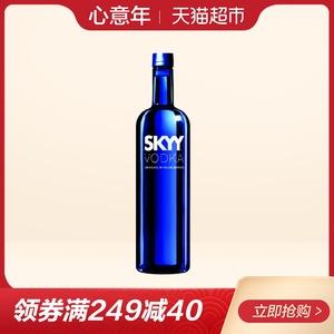 深蓝<span class=H>伏特加</span> SKYY美国进口原味VODKA洋酒 750ml/瓶