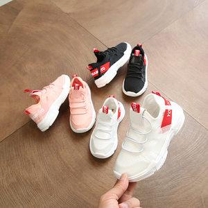 2019春秋季新款儿童运动鞋韩版女童跑步鞋男童时尚透气<span class=H>网鞋</span>亲子鞋