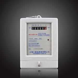 上海三星 <span class=H>电表</span> 单相电子式电能表DDS1032 5-20A 10-40A <span class=H>电表</span> 火表
