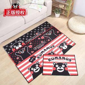 新品 卡通熊本熊厨房防滑地垫套装门厅脚垫浴室垫子卧室垫可机洗
