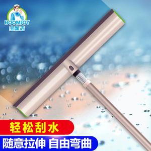 宝家洁擦玻璃家用窗户<span class=H>清洁</span><span class=H>工具</span>刮水器伸缩杆玻璃刷玻璃擦窗器
