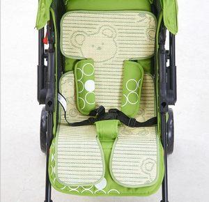 婴儿推车<span class=H>凉席</span>儿童宝宝竹炭夏季垫子折叠安全座椅bb<span class=H>餐椅</span><span class=H>通用</span>席子