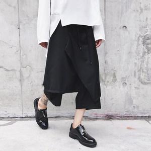 原创夏装新款低裆跨裤<span class=H>裙裤</span><span class=H>另类</span>个性<span class=H>潮男</span>发型师服装哈伦裤宽松男裤