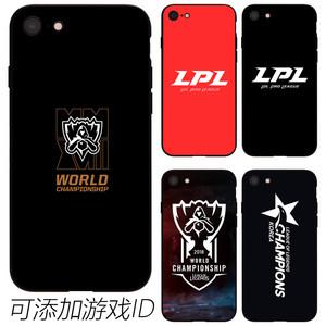 2018全球总决赛手机壳iPhone6PLUS7P8软XsMax玻璃LPL周边XR苹果6S