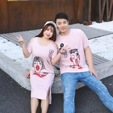 New Summer 8 Short Sleeve T-shirt, Long and Fat 200 Kinds Couple Dress Other Brands 2