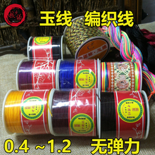 No. 72 Jade Line 0.8DIY Manual Braided Line Bracelet Line Necklace Hanging Line Red Line Bead Line