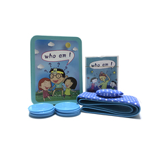 German H Home Table Game 25440 Guess who I am with 26 English alphabet cards attached to puzzle toys