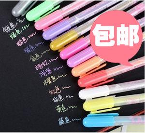 包邮DIY相册日记本黑<span class=H>卡纸</span> 儿童手工绘画涂鸦水粉彩笔高光笔奶油笔